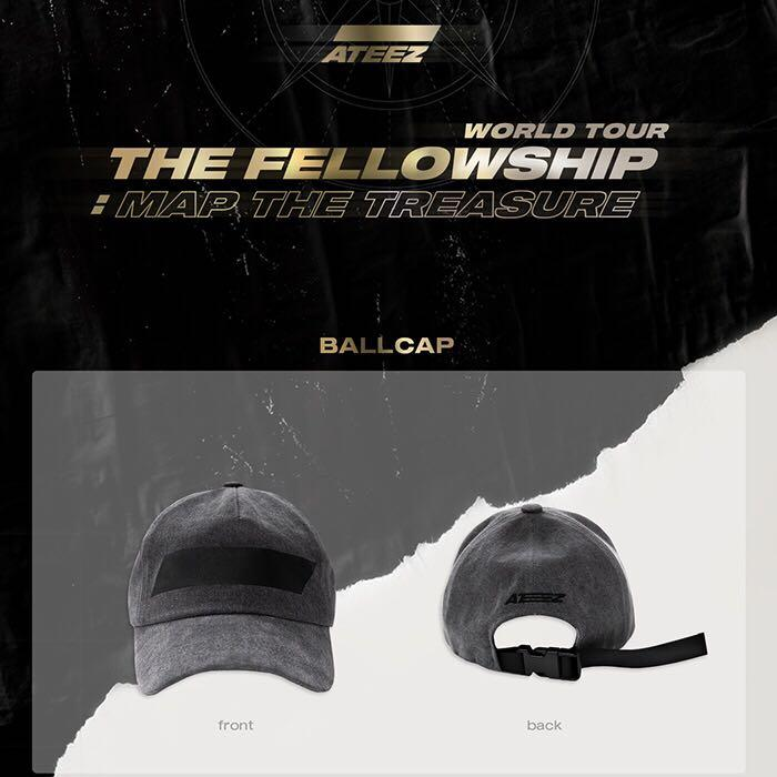 ATEEZ THE FELLOWSHIP WORLD TOUR: MAP THE TREASURE OFFICIAL MERCHANDISE