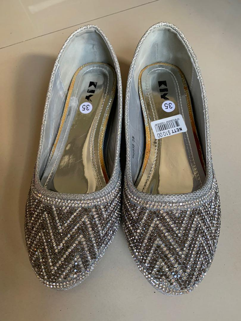 🥿BN Sliver Women's Flats Shoes with