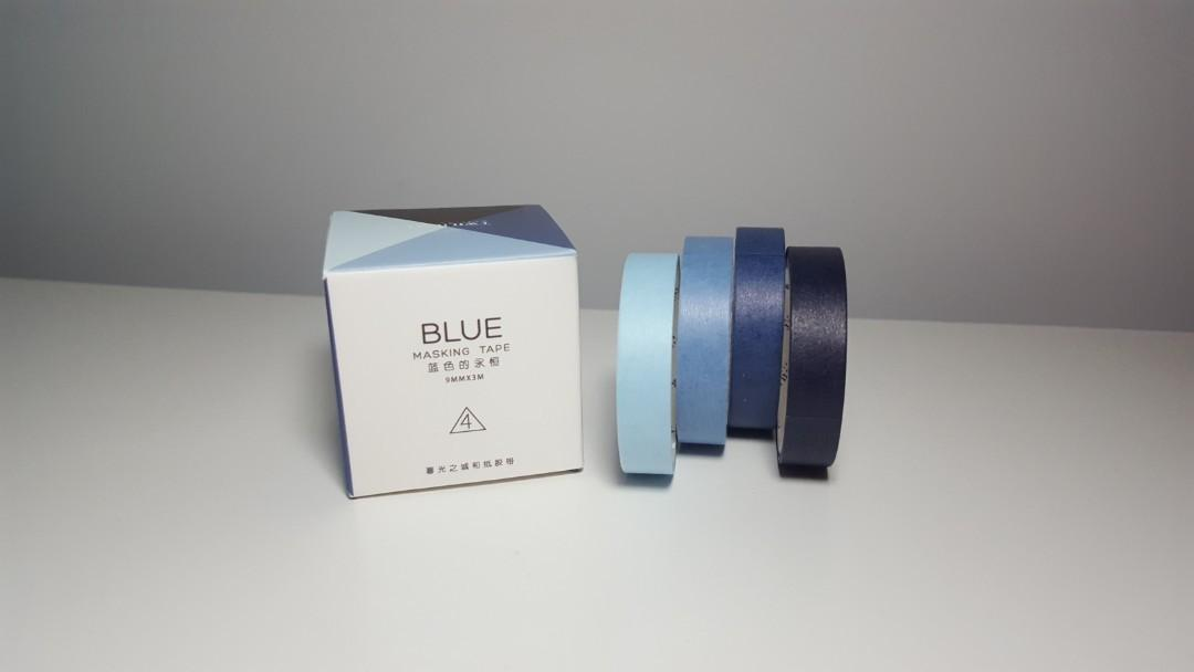 brand new Solid colours Washi tape set of 24 rolls 9mm