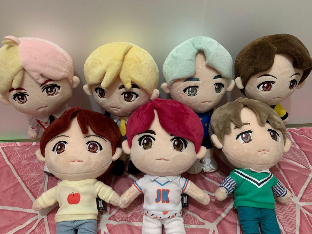 BTS LIMITED EDITION CHARACTER PLUSH TOY (IDOL) from BIGHIT ENT.