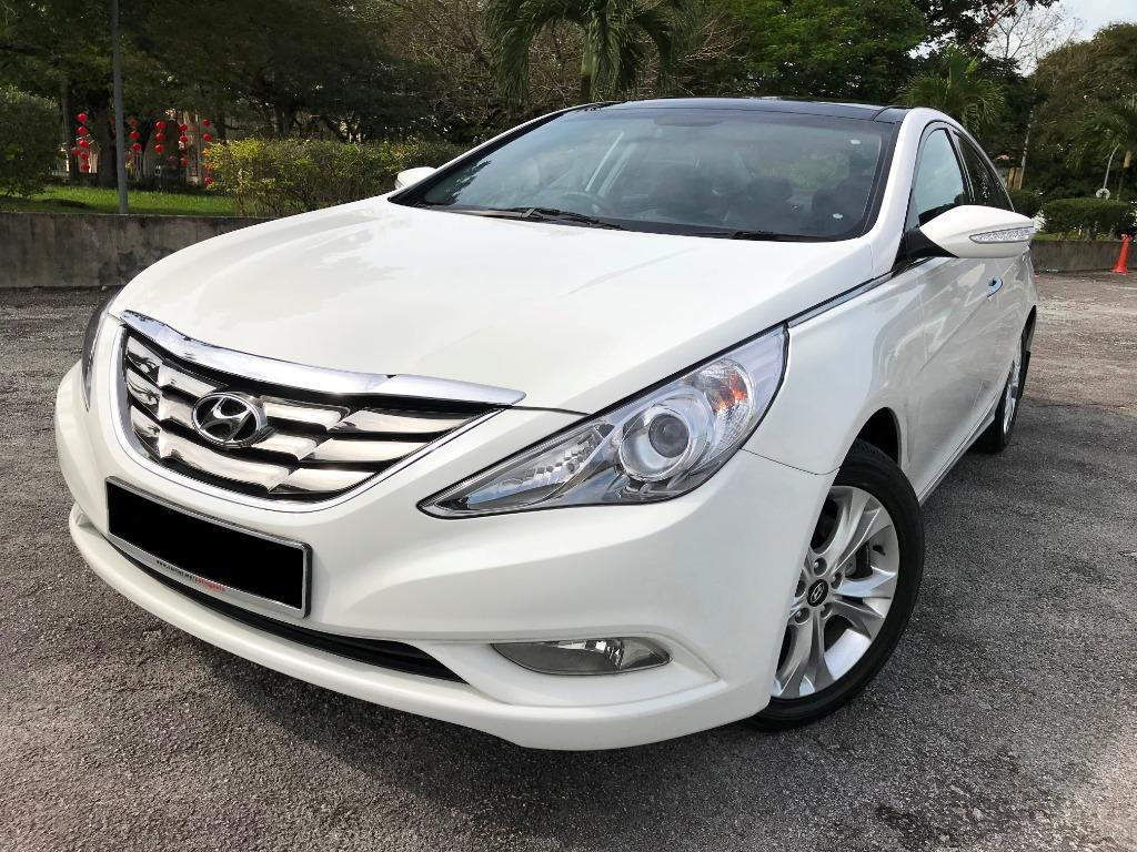 Car Rented _ Hyundai Sonata 2.0 (a) GLS Premium - Kereta Sewa