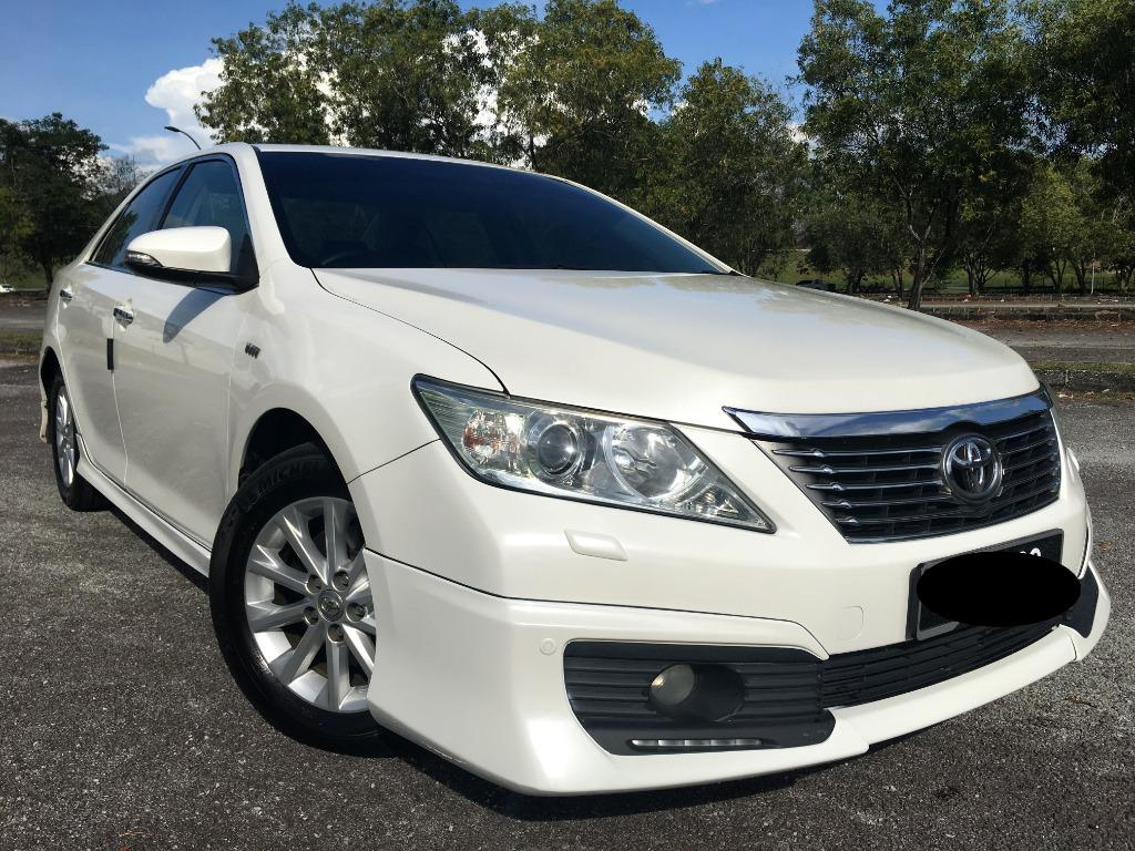 Car Rented - Toyota Camry 2.0G (A) Full Spec - Kereta Sewa