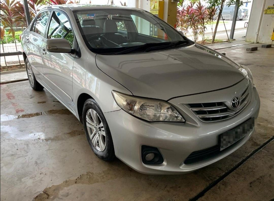 Cheap car for rental. All in good condition. Toyota Altis, toyota Estima