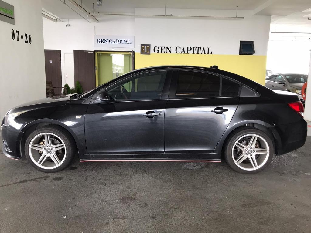 Chevrolet Cruze HAPPY MONDAY JUST IN!! Most Fuel Eficient & Spacious. Cheapest rental in town with just $500 Deposit driveoff immediately. Whatsapp 8188 8616 now to reserve!