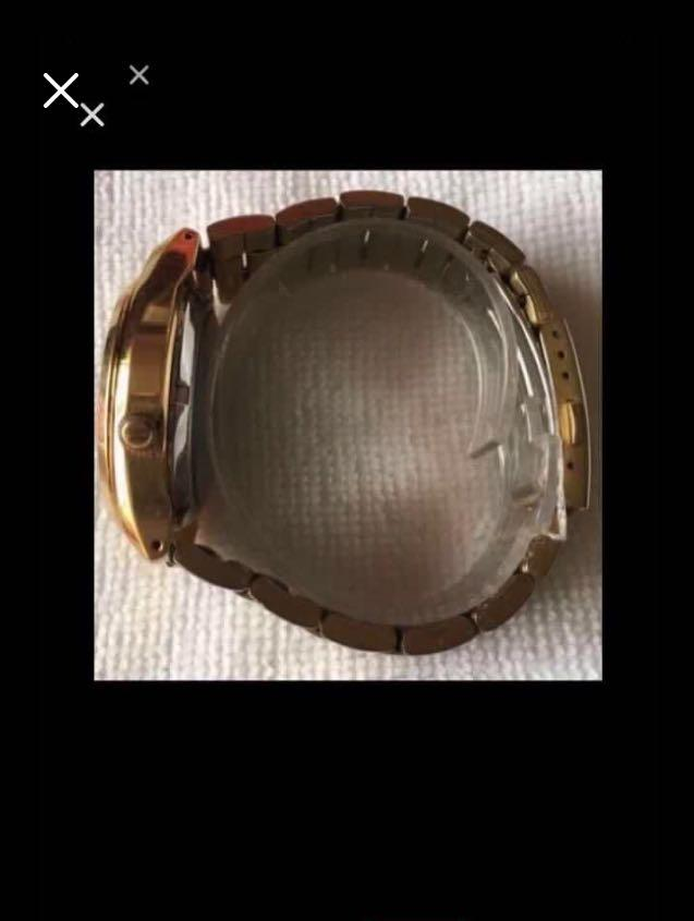 CLEARANCE SALES {Collectibles Item - Vintage Dress Watch} Superb Rare Vintage Authentic Pre-owned SEIKO Brand Automatic Stainless Steel Transparent Case Number 8848•B•E Men's Dress Watch C/W Days In English/Javanese