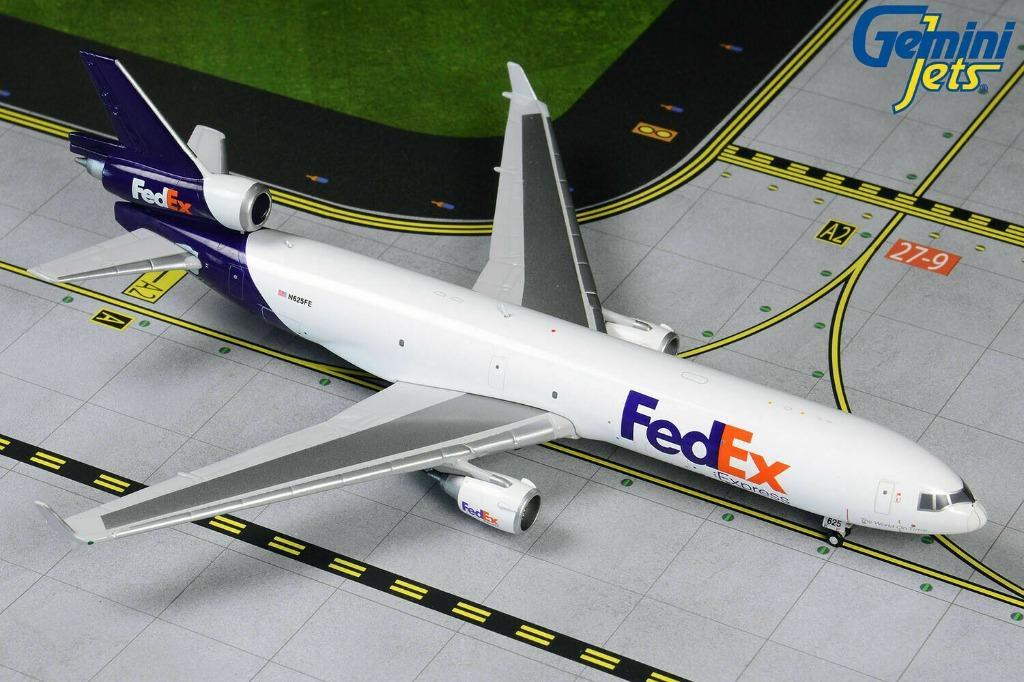 Gemini Jets FedEx MD-11F N625FE GJFDX1493 1:400 Scale