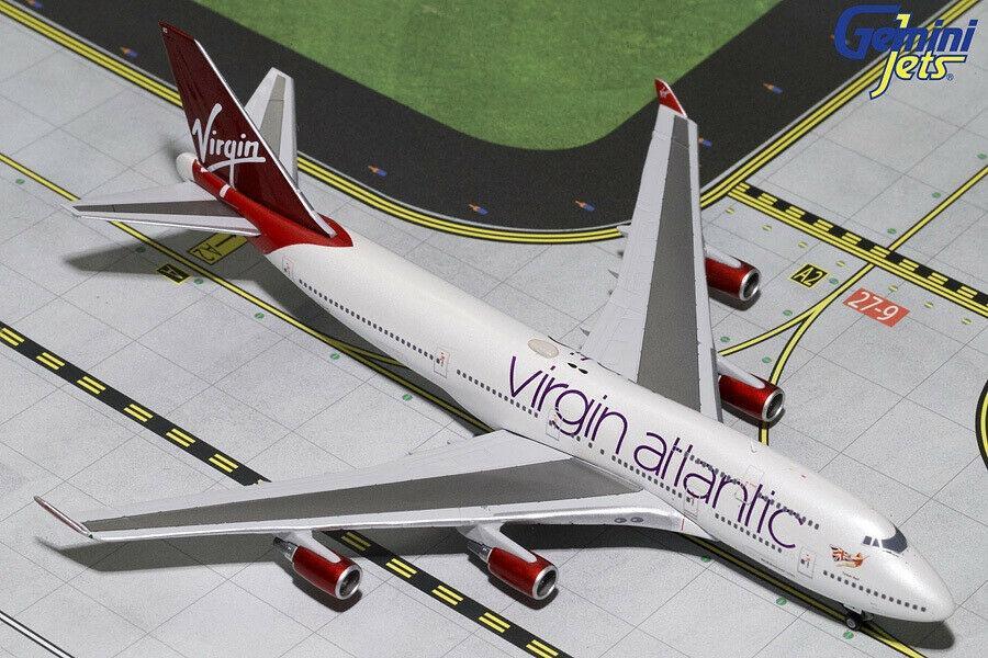 Gemini Jets Virgin Atlantic Boeing 747-400 GJVIR1799 1:400 Scale