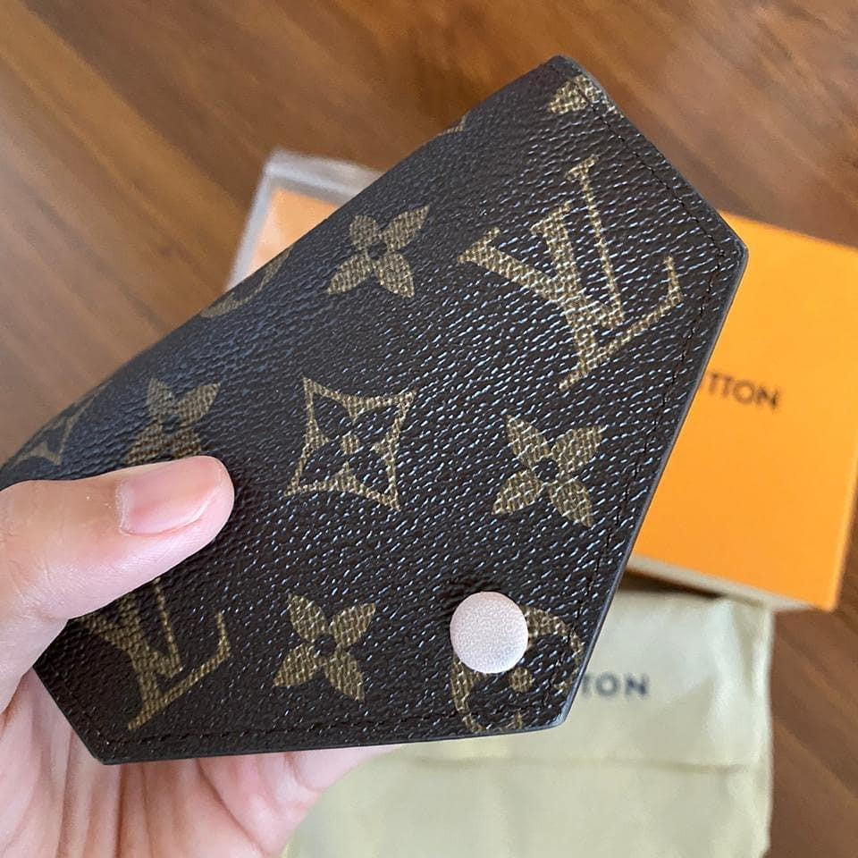Louis Vuitton Wallet 31F1 Victorine bahan Canvas original size mini wallet 90% very good condition