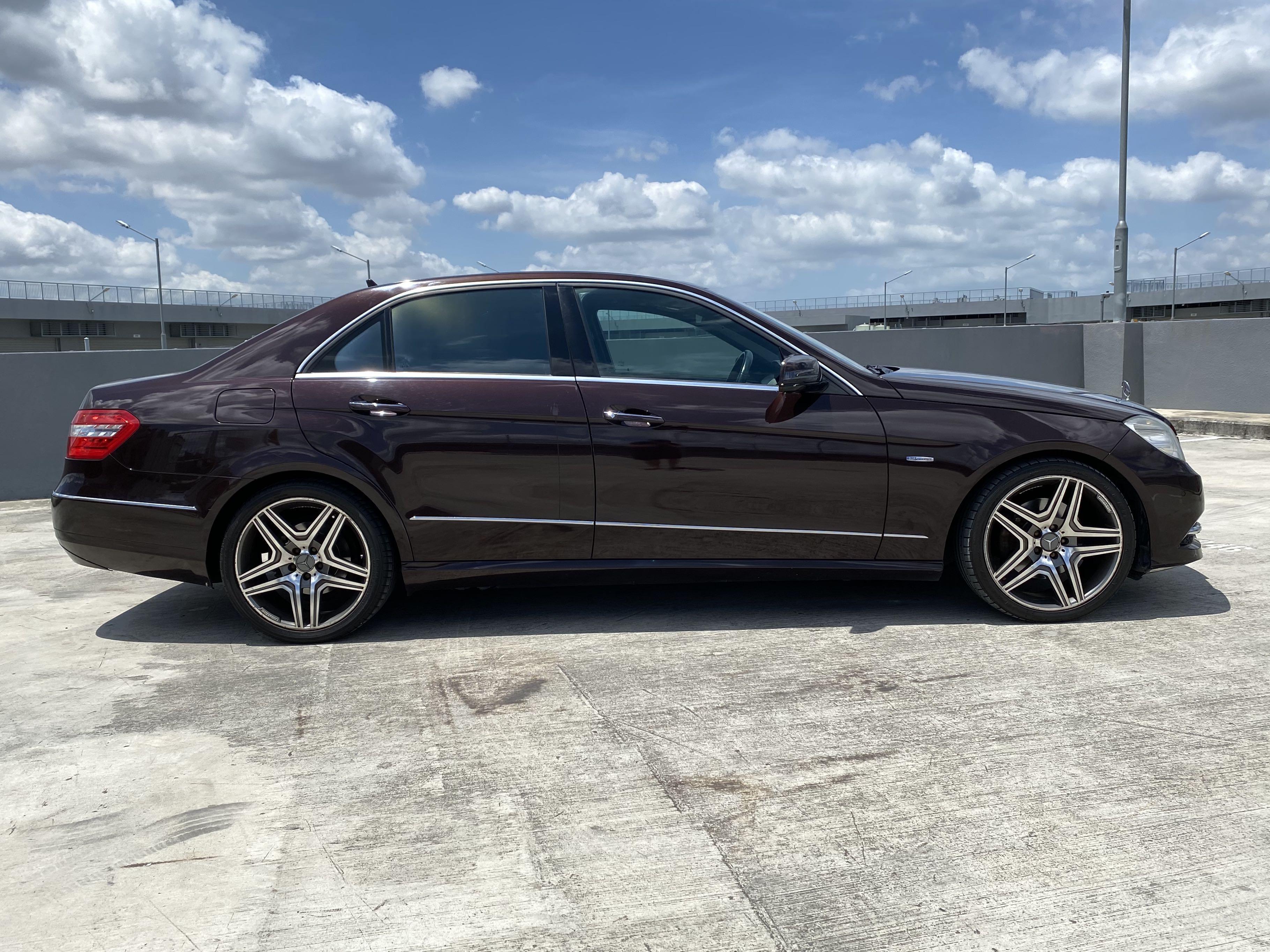 Mercedes Benz E250 CHEAPEST !!! LIMO rental ! E class