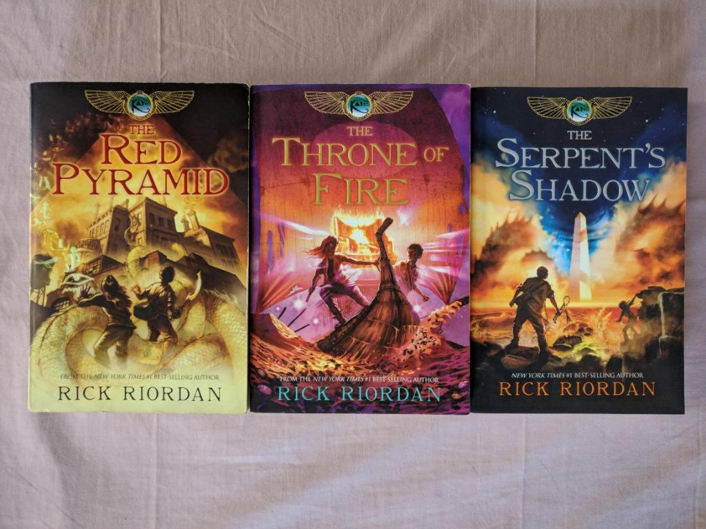 Percy Jackson The Heroes of Olympus, The Kane Chronicles - Rick Riordan
