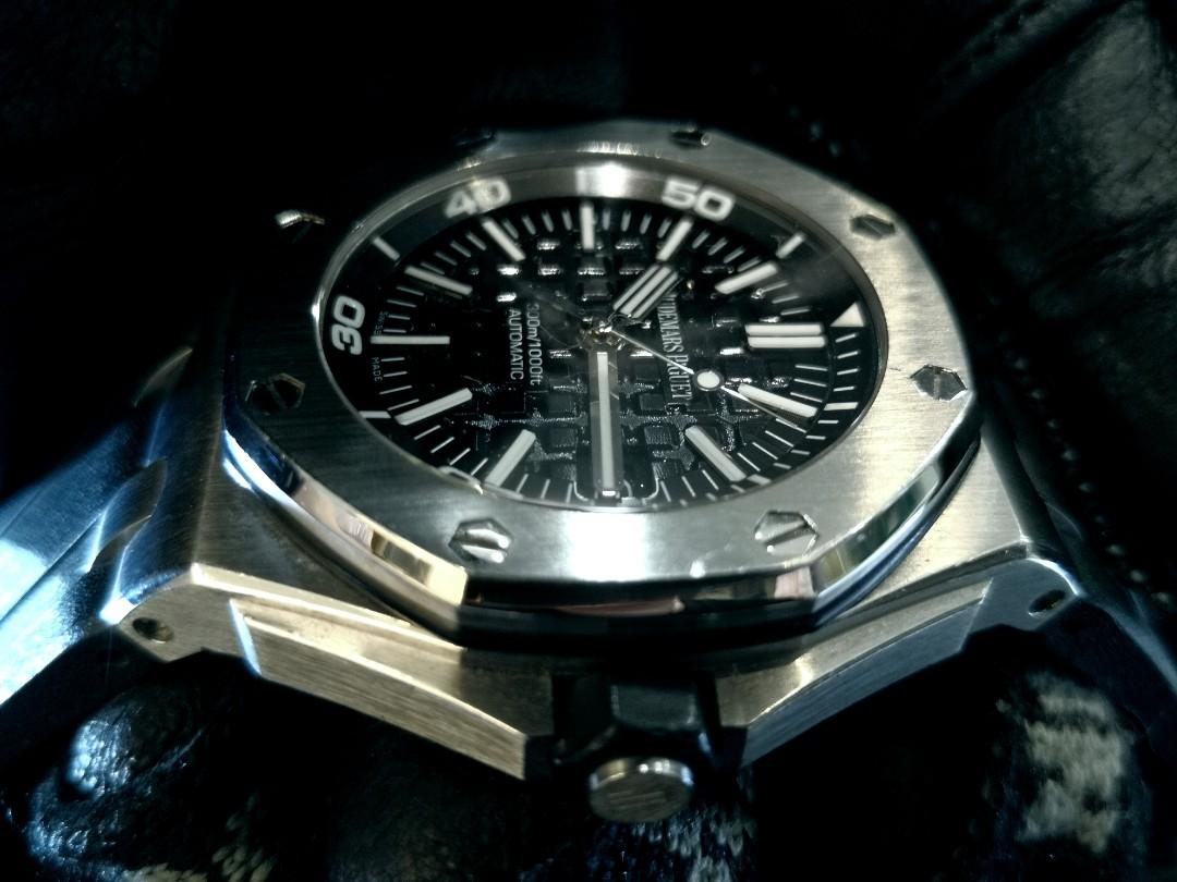 PREOWNED AUDEMARS PIGUET AP Royal Oak Off Shore Steel, Diver, 42mm, Automatic, 15703ST.OO.A00CA.01, 42x54mmx14.1mm. H Series @ Year 2012 Mens Watch
