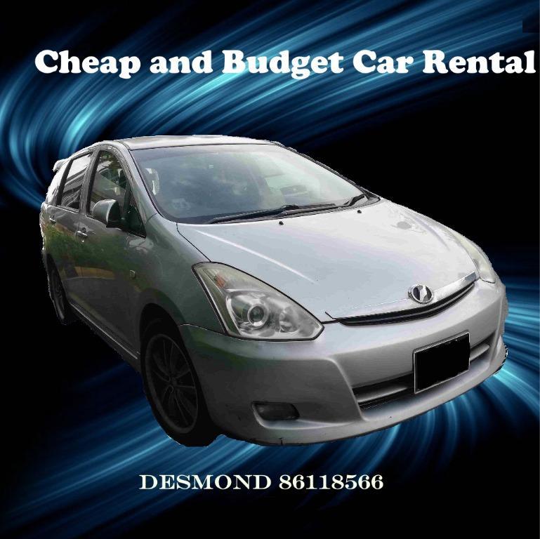 Promotion Super Cheap / Budget Car Rental MPV - PHV