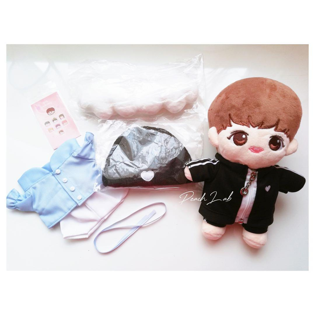 [Ready-stock] BTS Jungkook 20cm Doll - Teenage Doll Jungkook Set