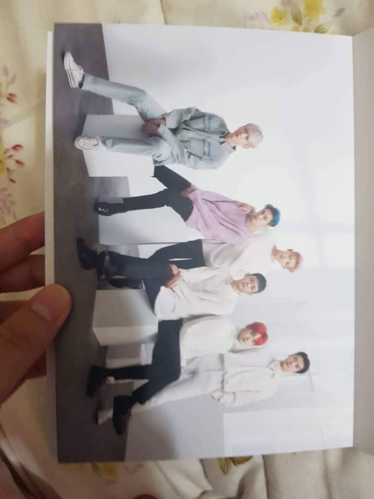 [READYSTOCK] EXO NATURE REPUBLIC LIMITED EDITION POSTCARD