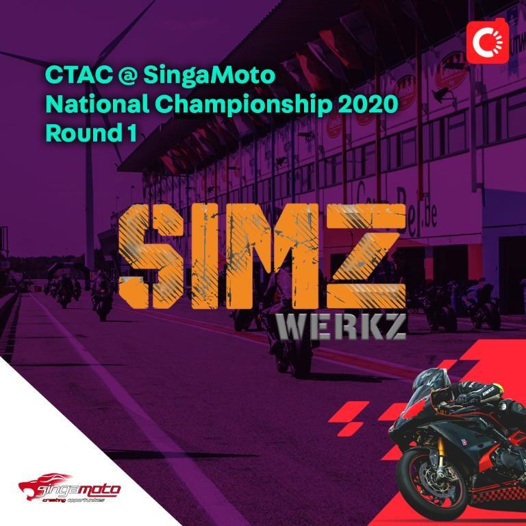 SIMZ Werkz @ SingaMoto National Championship 2020 Round 1