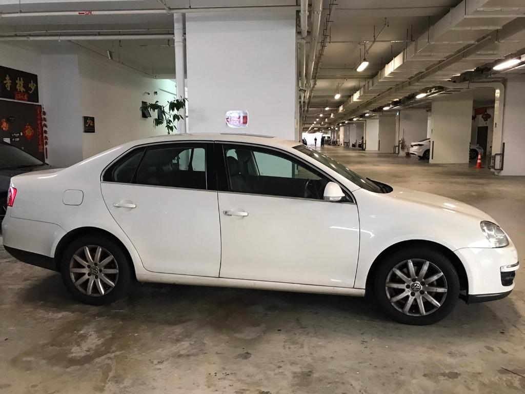 Volkswagen Jetta 1.4 TSI HAPPY MONDAY JUST IN!! Most Fuel Eficient & Spacious. Cheapest rental in town with just $500 Deposit driveoff immediately. Whatsapp 8188 8616 now to reserve!