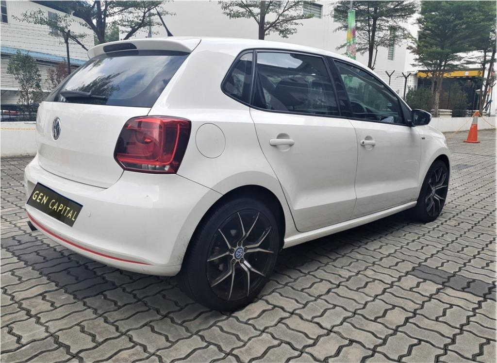 Volkswagen Polo 1.4A TSI HAPPY MONDAY!! JUST IN with the most Fuel Eficient & Spacious car. Cheapest rental in town with just $500 Deposit driveoff immediately. Whatsapp 8188 8616 now to reserve!