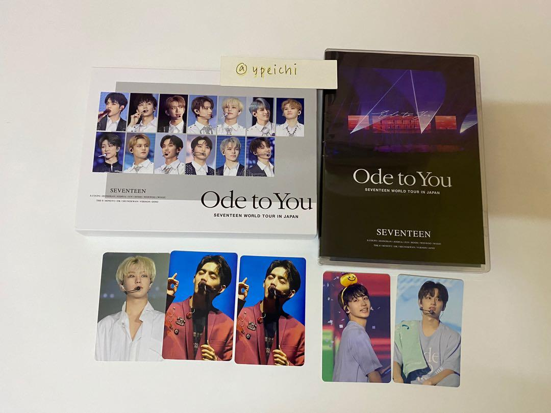 [WTT] Seventeen Ode To You In Japan DVD & Blu Ray Photocards