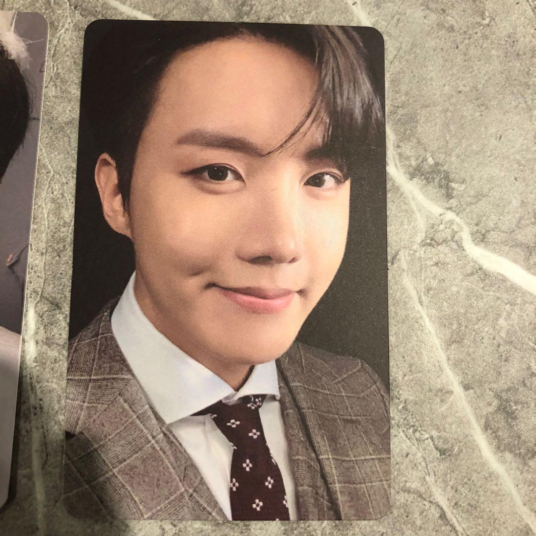 WTT/WTS BTS MAP OF THE SOUL : 7 PHOTOCARDS JIN JHOPE V