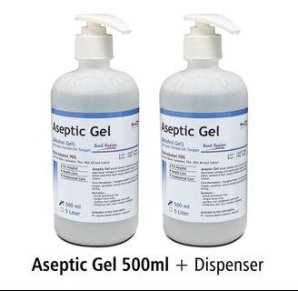 Onemed Hand Sanitizer Aseptic 500 ml