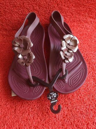 Crocs serena embellish flip ori ukuran w9
