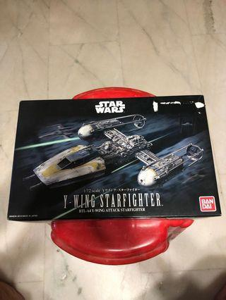 Bandai Star Wars 1/72 Y-Wing Starfighter