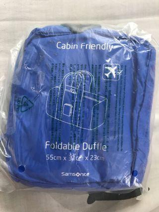 Tas Samsonite Travle Link ACC Foldable Duffle Blue