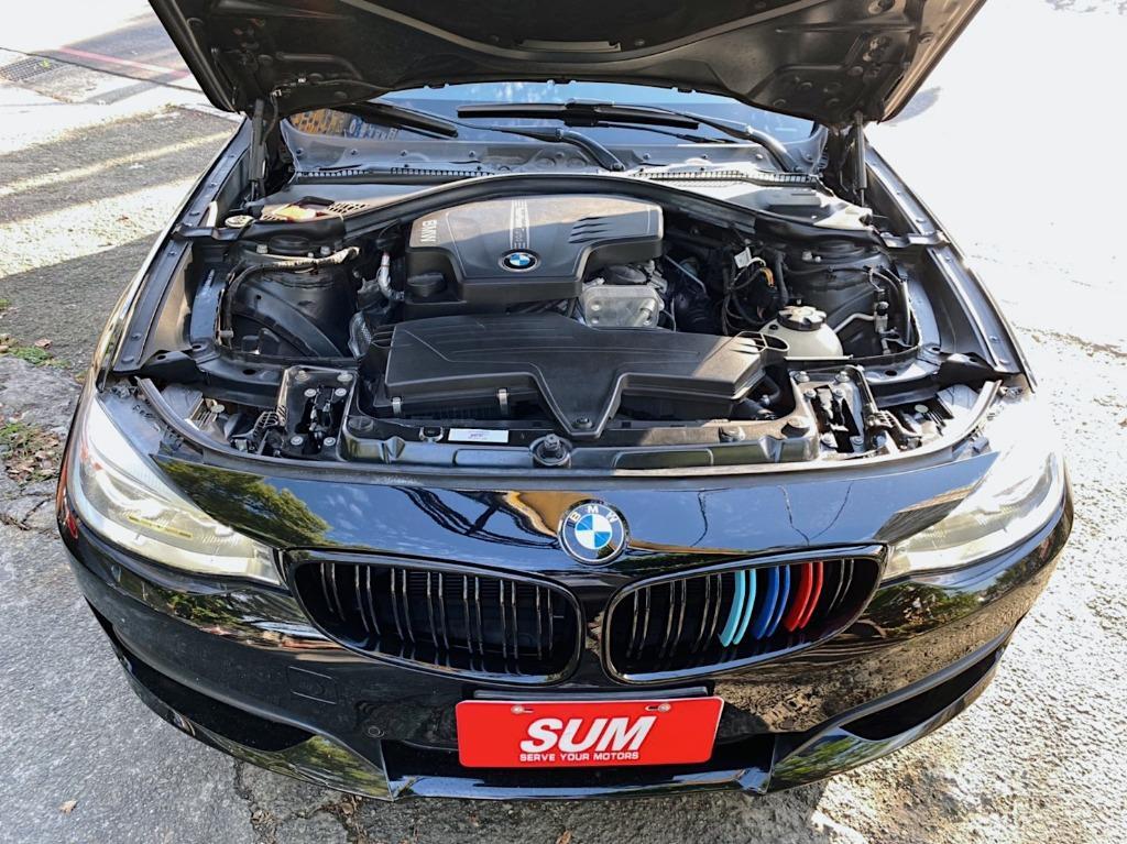 正2014年 BMW 五門斜背獵跑 328GT 2.0汽油雙渦輪 保證實車實價105.8萬!
