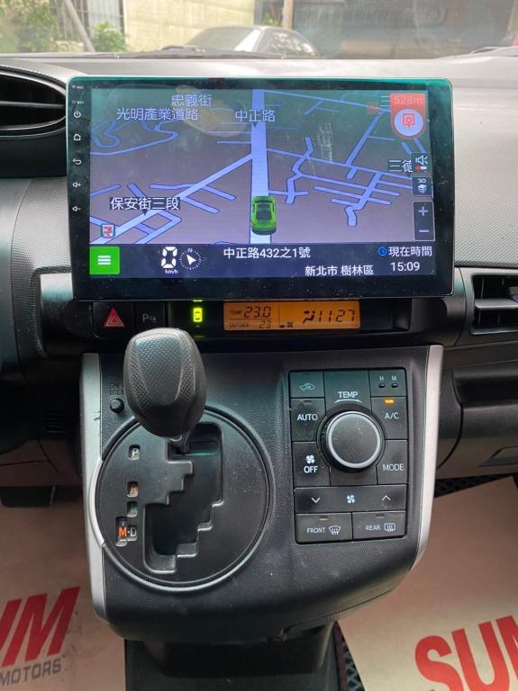 正2014年 三代Wish 7速CVT手自排 10吋多功能安卓機附一年保固!實車實價只要33.8萬!