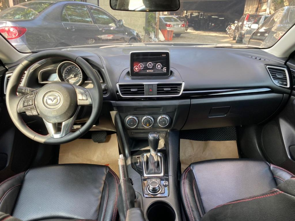 正2016年 最新款 魂動馬3 2.0S尊榮頂級版 超霸氣馬丁頭 超夯車型 限量僅此一台 保證實車實價45.8萬!