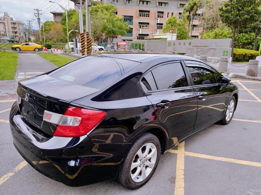 全台最便宜 實車實價 正2012 CIVIC K14 經典格陵紋運動版十吋安卓機 全額貸款 找錢車 非自售 一手車
