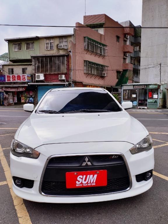 全台最便宜 實車實價 正2013 三菱LANCER IO 鯊魚頭 2.0頂級版 全額貸款 找錢車 非自售 一手車