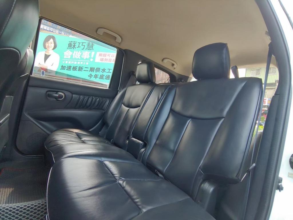 全台最便宜 實車實價 正2013 Nissan Livina 1.8 7人座 全額貸款 找錢車 非自售 一手車