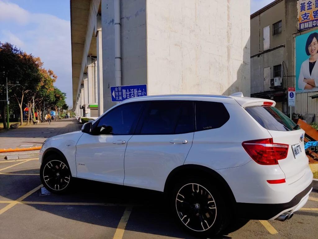 全台最便宜 實車實價 正2014 BMW X3 28I 白帥帥 全額貸款 找錢車 非自售 一手車
