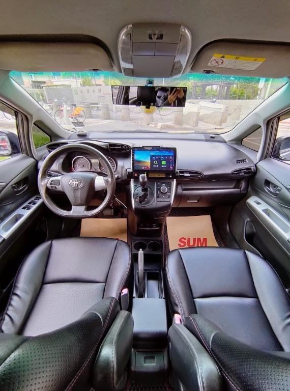 全台最便宜 實車實價 正2014 TOYOTA WISH 2.0 7人座 全額貸款 找錢車 非自售 一手車