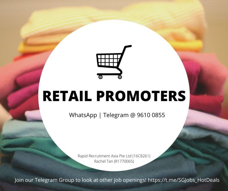 📣 Retail Promoter - (Attractive Commission | URGENT)