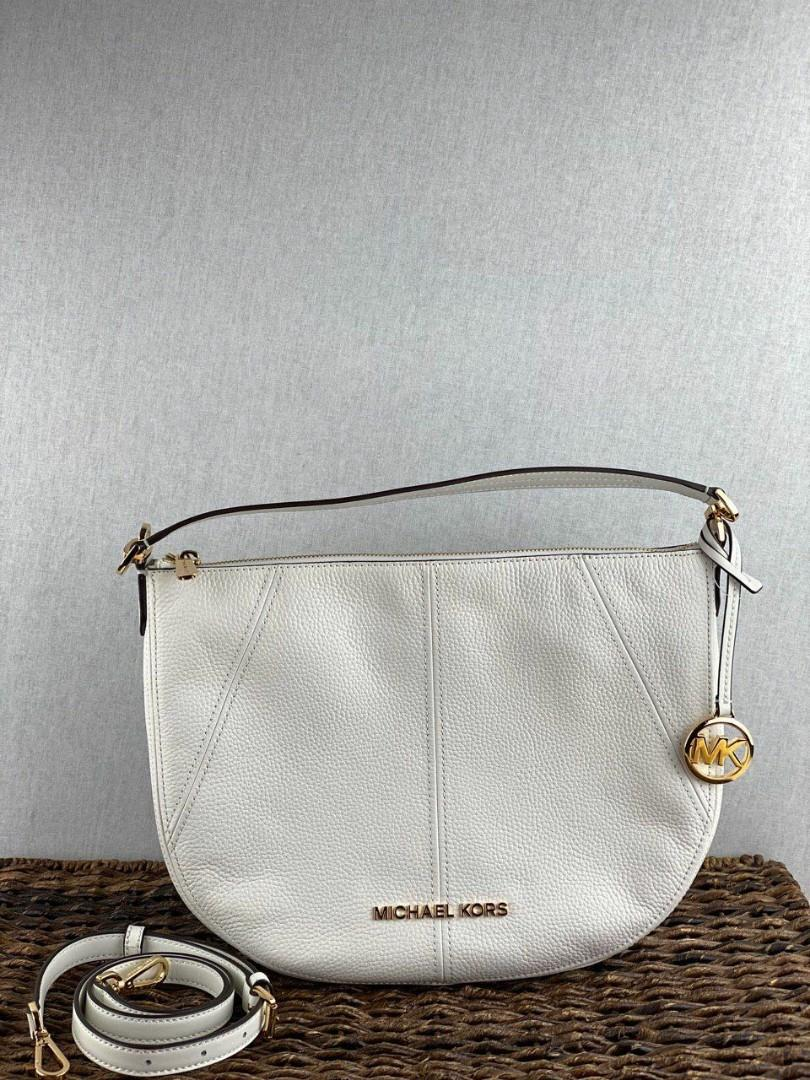 CLEARANCE!  Michael Kors Bedford Medium Crescent Shoulder Bag in Leather