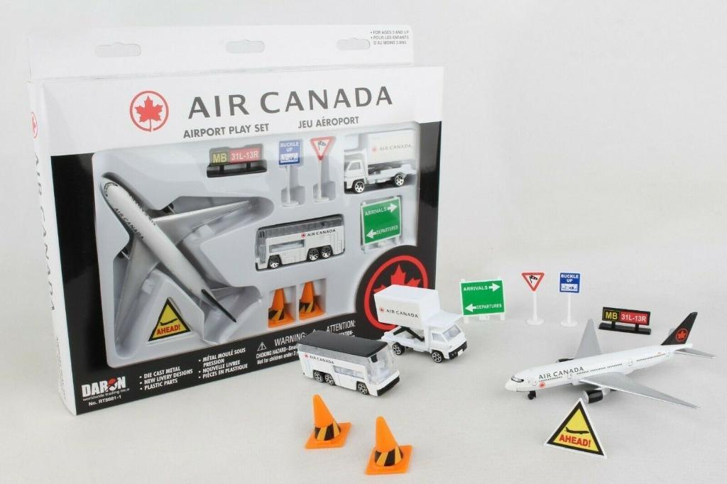 Daron Air Canada Airport Playset, 12-Piece RT5881-1