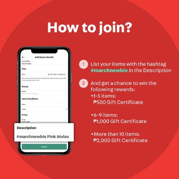 Exclusive Welcome Offer for New Carousellers