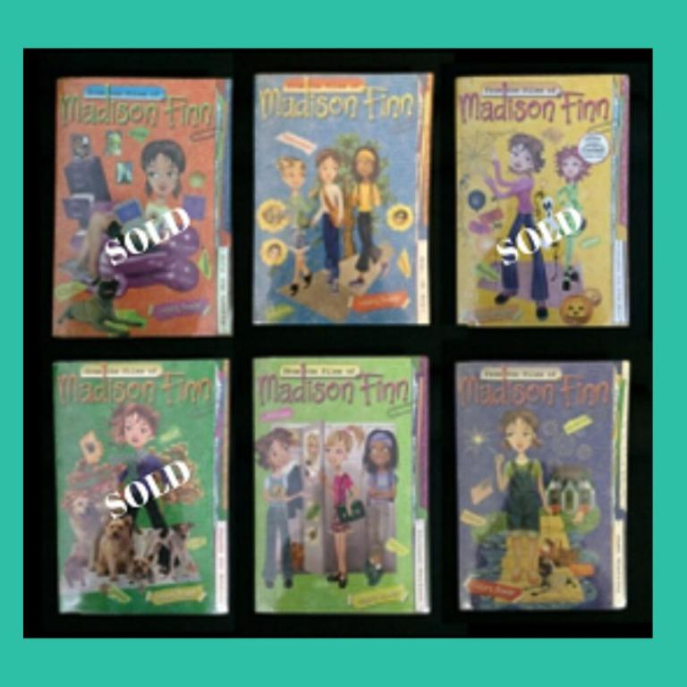 YOUNG ADULT: Lizzie Mcqguire, Madison Finn, Mandie books, Marykate & Ashley