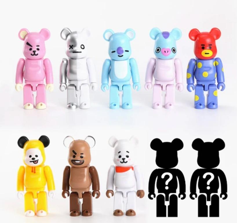Full Set + 2 special > BT21 X BEARBRICK FIGURE - BTS