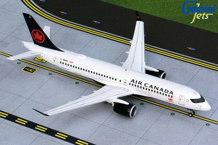 Gemini Jets Air Canada Boeing A220-300ER G2ACA718 1:200 Scale