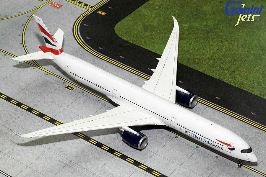 Gemini Jets British Airways Airbus A350-1000 G2BAW784 1:200 Scale