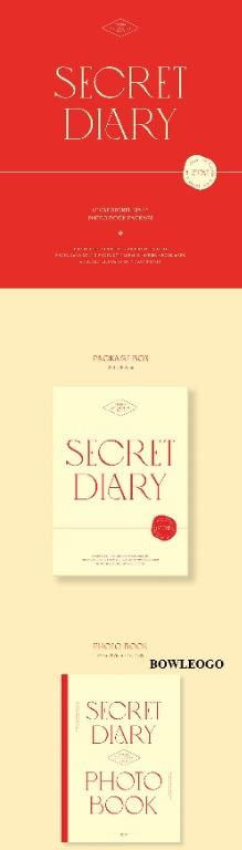 [GO] IZ*ONE - SPRING COLLECTION [SECRET DIARY] (CALENDAR or PHOTOBOOK PACKAGE)