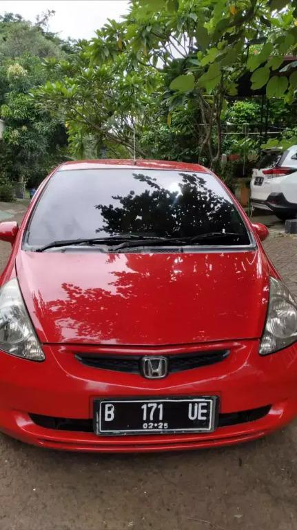 Honda Jazz idsi at metic Tahun 2005 merah metalik nopol Ganjil jakarta