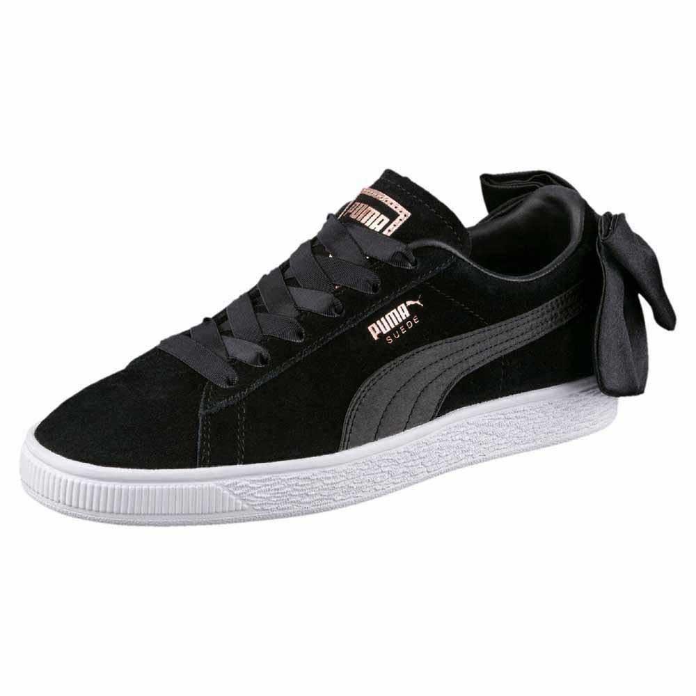 Puma authentic Suede Bow black, Women's