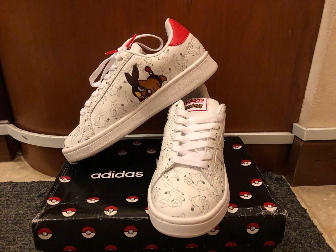 síndrome emocionante Hombre rico  INSTOCK]Authentic Adidas Stan Smith x Pokemon Pikachu Clover Joint Smith  Casual Sneakers, Women's Fashion, Shoes, Sneakers on Carousell