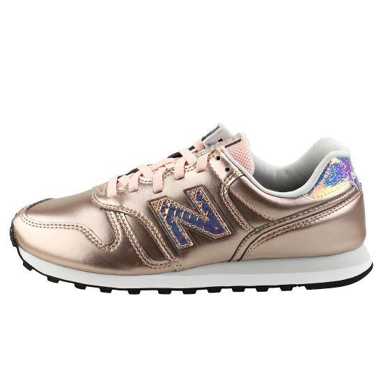 New Balance 373 Trainers in Rose Gold, Women's Fashion, Shoes ...