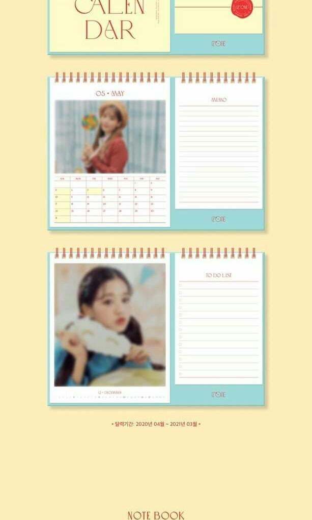 [PO] IZ*ONE SPRING COLLECTION SECRET DIARY (CALENDAR PACKAGE)