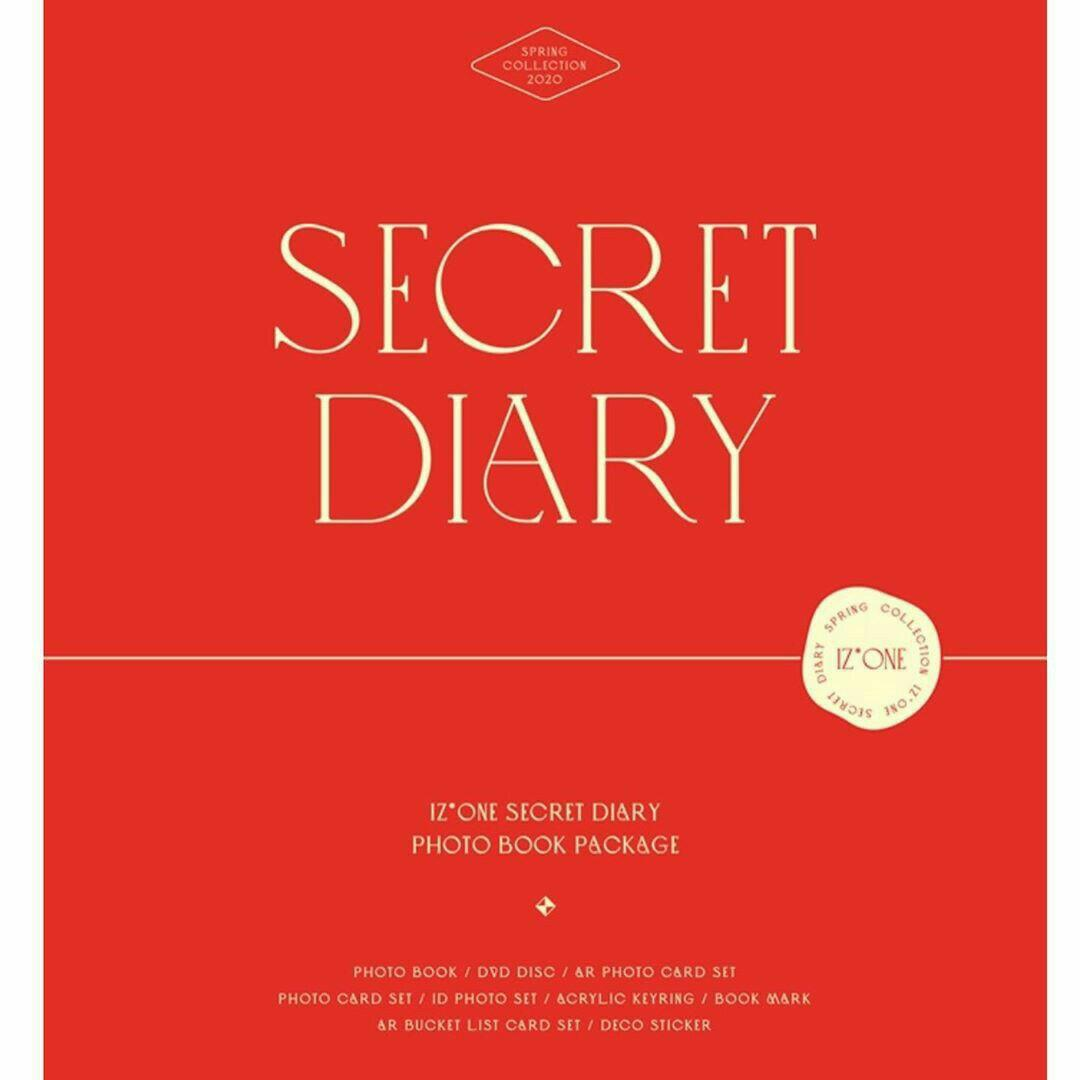 [PRE ORDER] IZONE: SPRING COLLECTION - SECRET DIARY <Photobook Package>